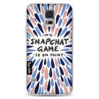 CasetasticSoftcover Samsung Galaxy S5 - Snapchat Pantone