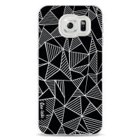 CasetasticSoftcover Samsung Galaxy S6 - Abstraction Lines Black