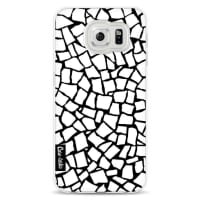 CasetasticSoftcover Samsung Galaxy S6 - British Mosaic White