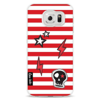 CasetasticSoftcover Samsung Galaxy S6 - Red Patches