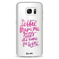 CasetasticSoftcover Samsung Galaxy S7 - Coffee Wine Pink