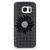 CasetasticSoftcover Samsung Galaxy S7 - Daisy Grid Black