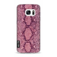 CasetasticSoftcover Samsung Galaxy S7 - Pink Snake