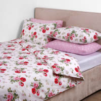 Cath KidstonAntique Rose Bouquet Duvet Cover - White - Single