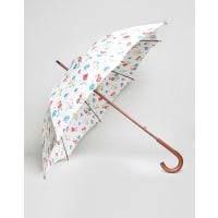 Cath KidstonKensington Walking Umbrella in Town Houses Print - Town houses
