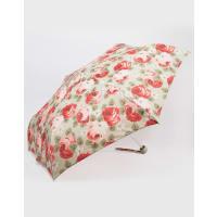 Cath KidstonMinilite Aubrey Rose Print Umbrella in Stone - Multi