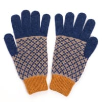 Catherine ToughMens Lambswool Gloves And Fingerless Mitts