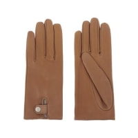CausseLouise Leather Gloves - Brown