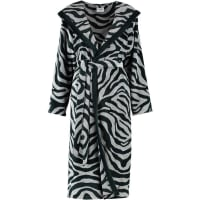 CawÖDamenbademantel, Cawö, »Zebra«, mit trendigem Fellmuster