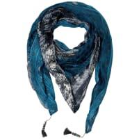 CecilPatchwork Tuch mit Quasten - dusk blue