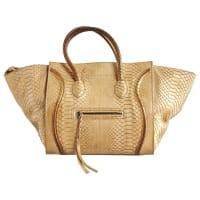 CelineLuggage Phantom Python handtaschen - aus zweiter Hand
