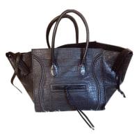 CelineLuggage Phantom Leder handtaschen - aus zweiter Hand