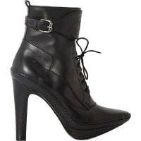 Celine Robert ChapeauxPre-Owned - Black Leather Ankle boots