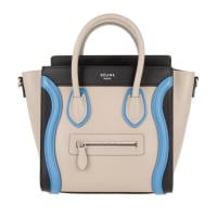 CelineTasche - Luggage Nano Tote Multicolor Quartz - in grau - Umhängetasche für Damen
