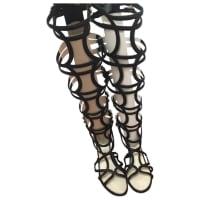 ChanelSegunda mano - Sandalias romanas de Cuero