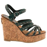 ChanelPre-Owned - LEATHER SANDALS