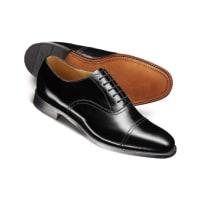 CHARLES TYRWHITTCarlton Oxford-Schuh mit Zehenkappe in schwarz
