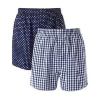 CHARLES TYRWHITT2er Pack Boxers in marineblau