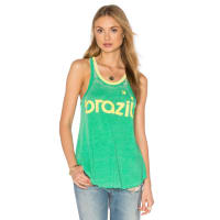 ChaserBrazil Tank in Green