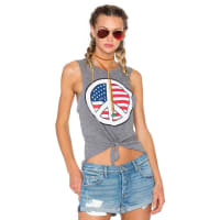 ChaserPeace USA Tank in Gray