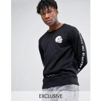 Cheap MondayRose Sleeve Sweater - Black