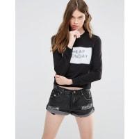 Cheap MondayWin Sweatshirt - Black