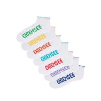 ChiemseeKorte sokken (7 paar) in wit foor Dames - Chiemsee