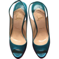 Christian LouboutinPre-Owned - Leather heels