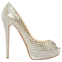 Christian LouboutinPre-Owned - LEATHER PUMPS