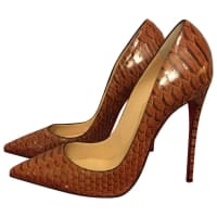Christian LouboutinPre-Owned - So Kate python heels