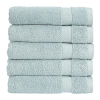 ChristyBamford Towel - Spa Blue - Face Cloth