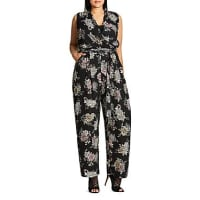 City ChicLush Floral Jumpsuit