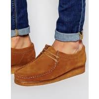 ClarksClarks Original Wallabee Suede Shoes - Tan