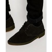 ClarksDesert London Shoes - Black