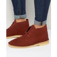 ClarksDesert Boots - Red