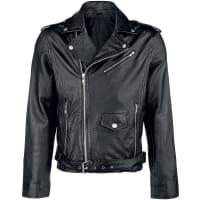 Classic StyleLederjacke Leder-Jacke schwarz