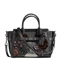 CoachEmbellished Canyon Quilt Swagger 27 bag