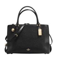 CoachLeather Brooklyn carryall