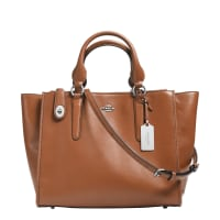 CoachSmooth Leather Crosby Carryall