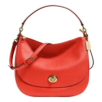 CoachTurnlock Hobo bag
