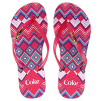 Coca Cola WareChinelo Coca-Cola Etnic Love - Feminino