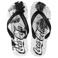 Coca Cola WareChinelo Coca-Cola Ink Splash - Masculino
