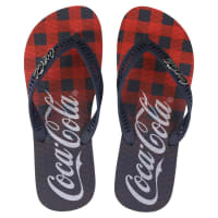 Coca Cola WareChinelo Coca-Cola Plaid - Masculino