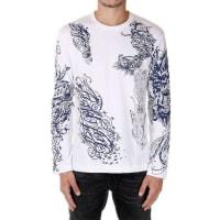 Comme Des GarçonsAbstracted Print long sleeve T-shirt Herbst/Winter