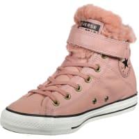 ConverseAll Star Brea Leather Fur Hi W Schuhe pink weiß schwarz