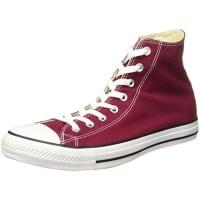 ConverseChuck Taylor All Star, Unisex-Erwachsene Hohe Sneakers, Rot (Maroon), 36 EU EU