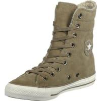 ConverseAll Star Suede Sherling X-Hi W Stiefel Schuhe beige beige