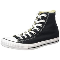 ConverseChuck Taylor All Star, Unisex-Erwachsene Hohe Sneakers, Schwarz (M9160 Schwarz) 40 EU
