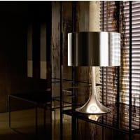 FLOSSpun Light T2 Alluminio Lampada da Tavolo