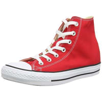 ConverseChuck Taylor All Star, Unisex-Erwachsene Hohe Sneakers, Rot (Varsity Red), 38 EU